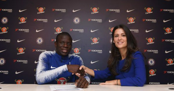 N'golo Kante Pens New-Record-290k-A-Week Deal Until 2023 1