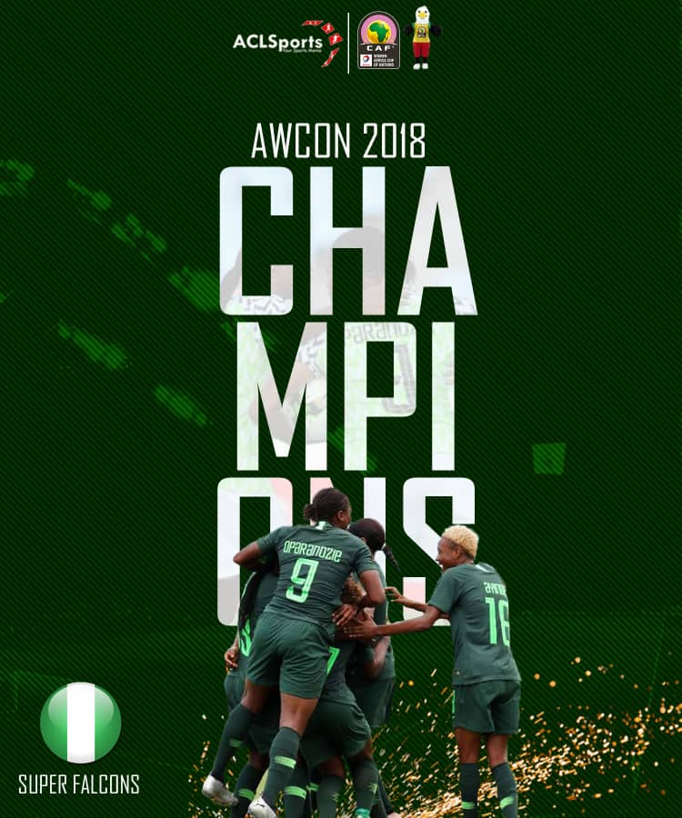 Champions Of Africa : Super Falcons Beats South Africa On Penalties To Claim 9th AWCON Title 1