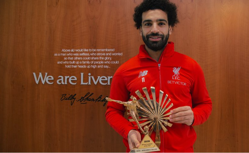 Mohamed Salah Named BBC African Footballer Of The Year For Second Straight Year 1