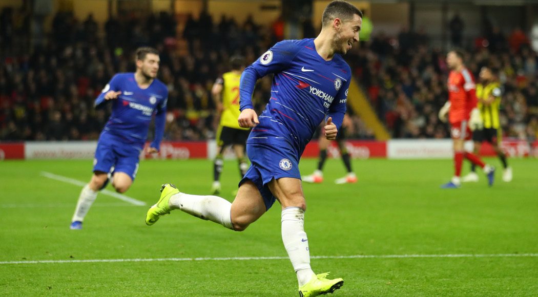 Hazard Wants Legendary Status At Chelsea After Reaching 100 Goal Mark 1
