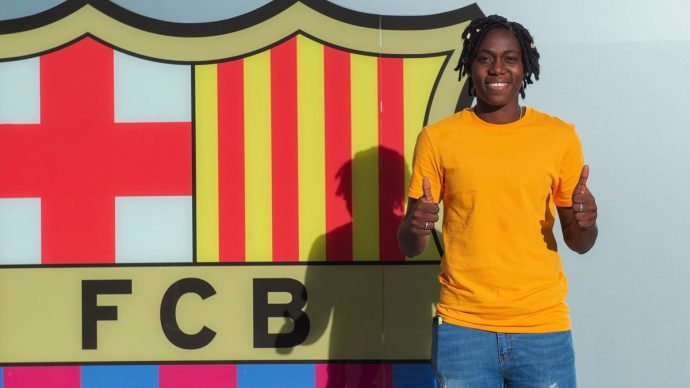 Official: Barcelona Secure The Signing Of Super Falcon Forward 5