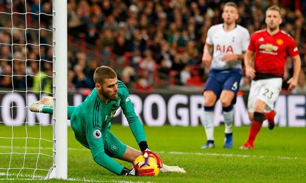 De Gea's Heroic Performance Squeeze Manchester United Past Spurs 3