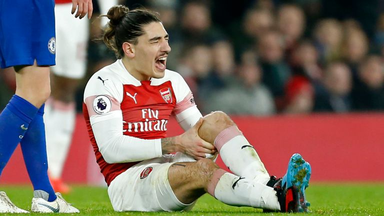 Arsenal's Defender Hector Bellerin Ruled Out For The Rest Of The Season 7