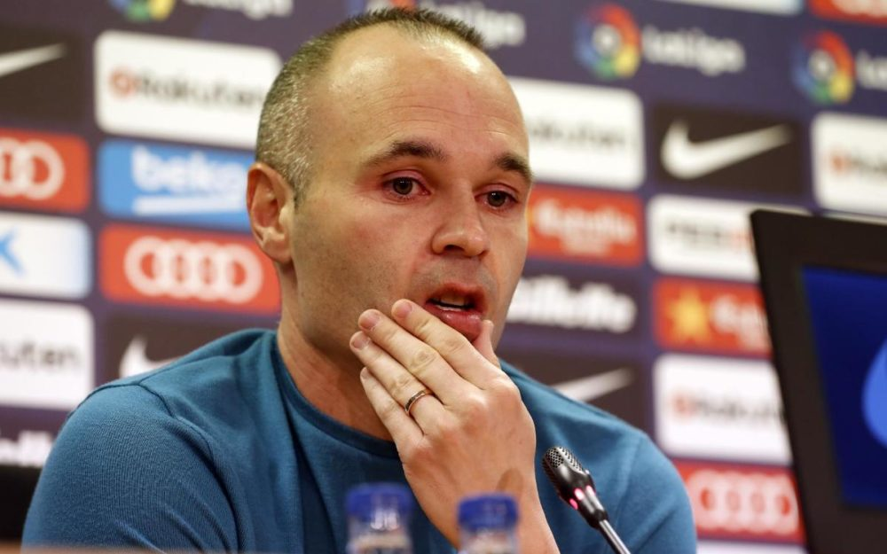 Barcelona Deserves More Champions Leagues Than They Have Won - Iniesta 1