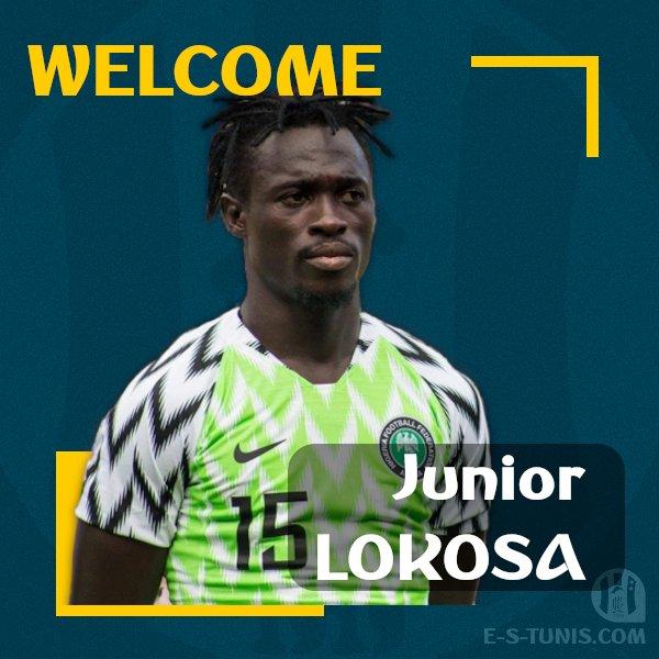 Official : Esperance De Tunis Secure The Signing Of Junior Lokosa 1