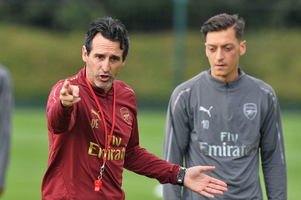 The Writing Is On The Wall' It's Obvious Ozil Does Not Fit In Unai Emery's Plan 1