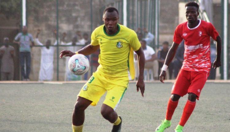 Kano Pillars Striker Gambo Muhammad Happy To Return With A Bang 1