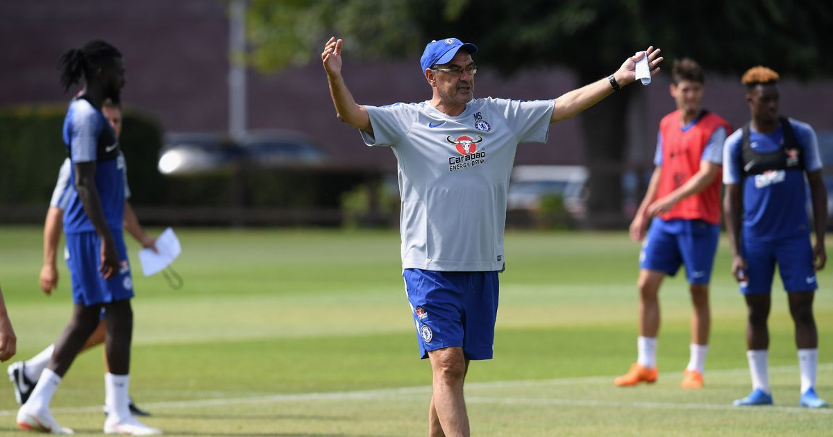My Target Is To Improve Chelsea's Mentality - Sarri 1