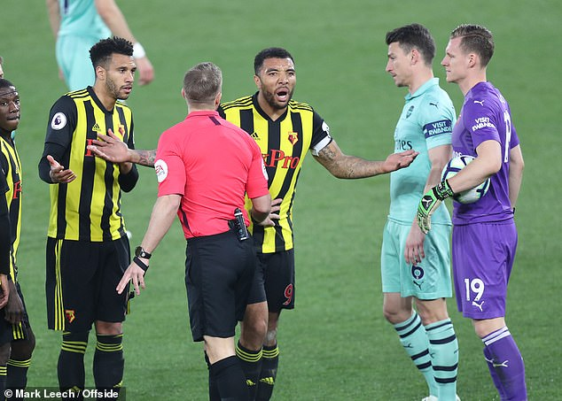 He's A F****** P****!': Troy Deeney Fired Foul-Mouthed Rant At Referee, Lucas Torreira & Unai Emery 1