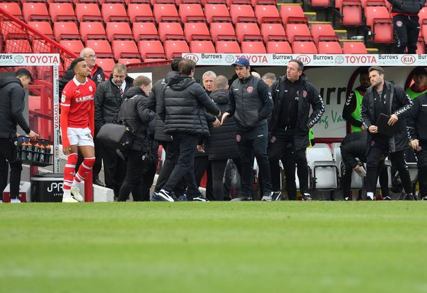 Barnsley Manager Daniel Stendel Lost Two Teeth In A Bloody Incident With Joey Barton 3