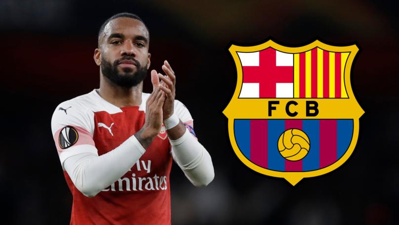 Transfer Rumours: Barcelona Table An Audacious £70m Bid For Alexandre Lacazette 1
