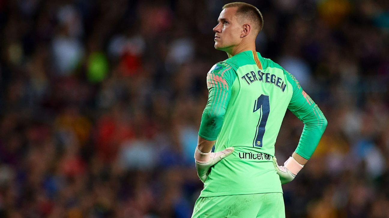Ter Stegen A Major Doubt For Copa del Rey Final 1