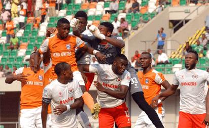 NPFL PLAY-OFFS: Endless Drama As Akwa United Force 10-Man Rangers To A Draw 5