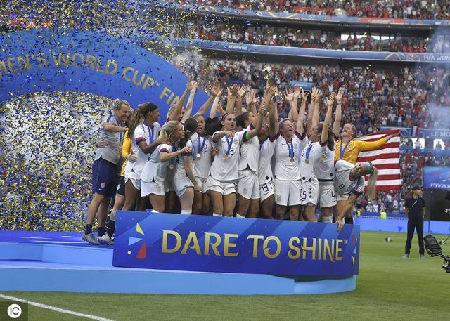 U.S. Women's Soccer Team Wins 2019 World Cup 11