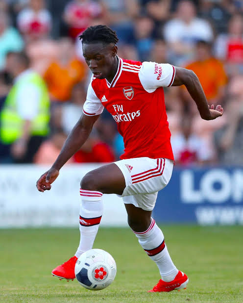 Arsenal Striker Folarin Balogun Eligible For Nigeria, Withdraws From England U19 Squad 1