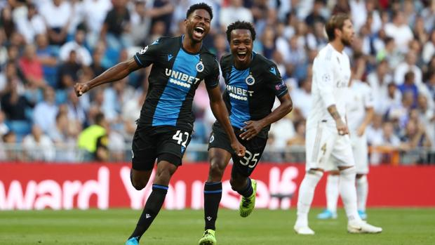 Emmanuel Dennis Scores Twice As Club Brugge Shock Real Madrid At The Bernabeu 3