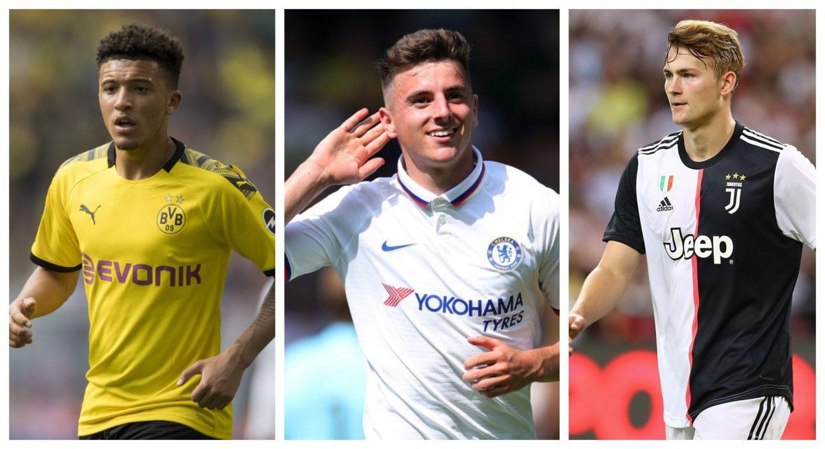 2019 'Golden Boy': Matthijs de Ligt , Jadon Sancho & Mason Mount On Final 20-man Nominees 1