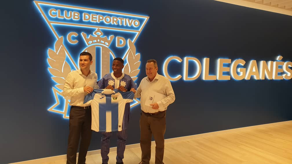 Official: CD Leganes Secure The Services Of Success Makanjuola 1