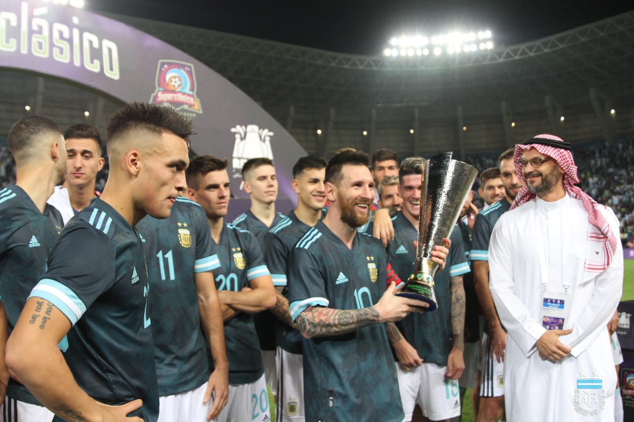 Lionel Messi Finally Wins An International Trophy, As His Lone Goal Sinks Arch-Rival 3