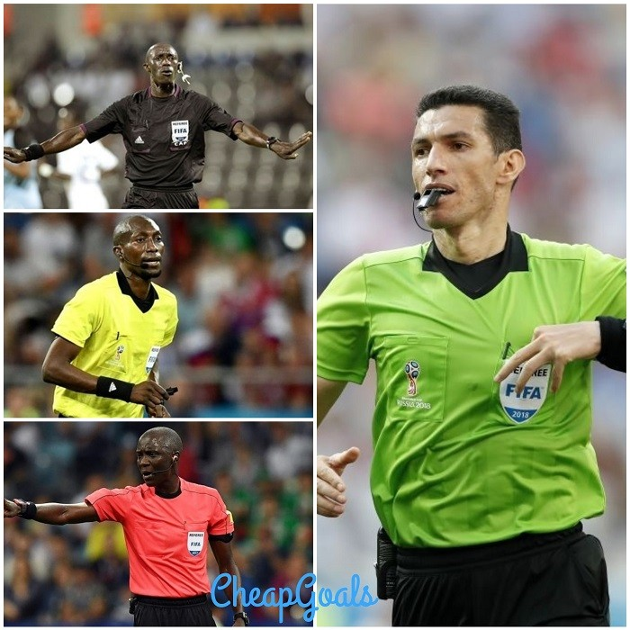 Top 10 Referees In Africa Since 2010 1