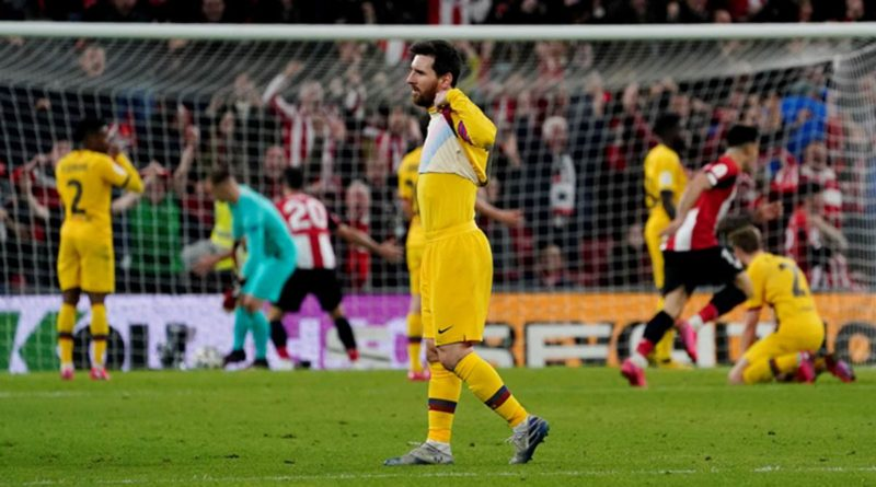 Copa Del Rey Ouster - The Beginning Of The End For Barca Season !