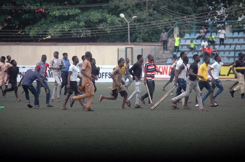 NPFL Crowd Violence - Will There Ever Be An End? 2