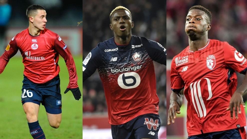 Hazard, Pepe, Osimhen & Lille OSC's Money-Making Talent Ground 1